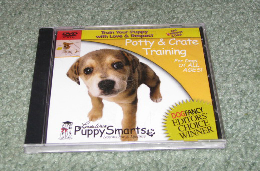 Potty Traing DVD Video for Puppies