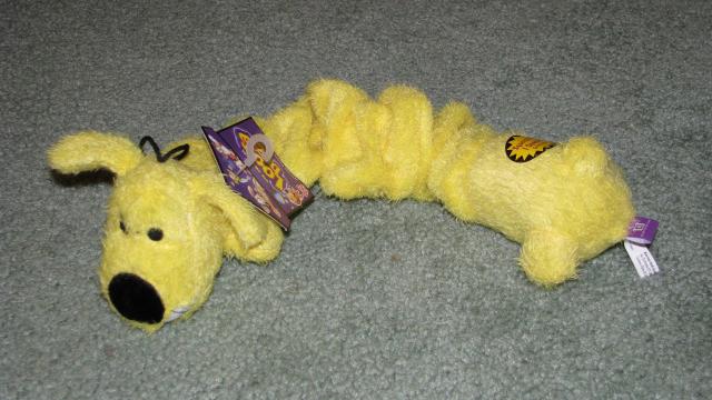 Large Loofa Dog Toy